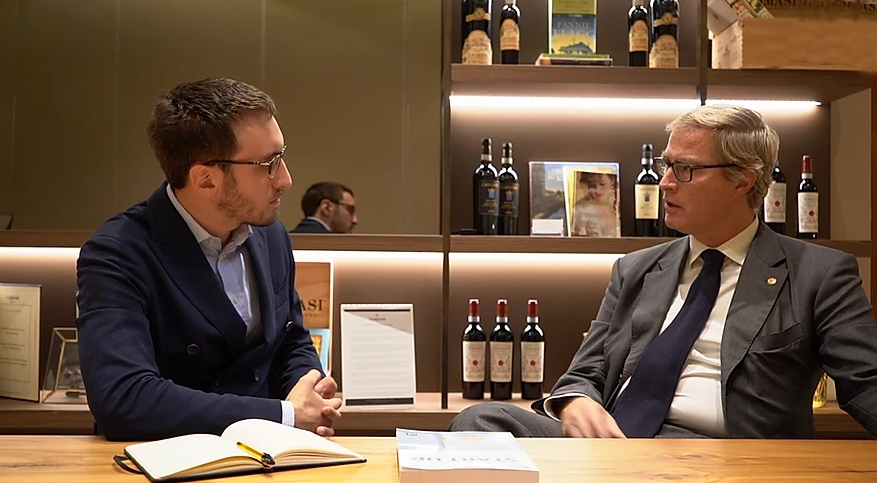 Luca Brambilla intervista l'Avvocato Giorgio Incantalupo sul libro Start Up