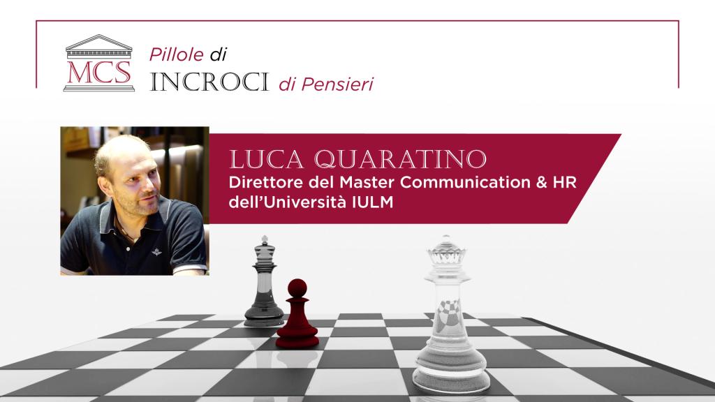 Intervista a Luca Quaratino
