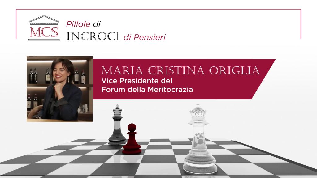 Intervista a Maria Cristina Origlia