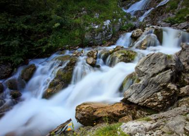 Fiume che scorre o fiume che sparisce?