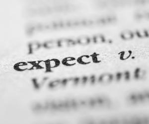 L'aspettativa nasce dai nostri comportamenti o nostri desideri, non basta desiderare qualcosa perché questa accada, ma ci si deve impegnare.